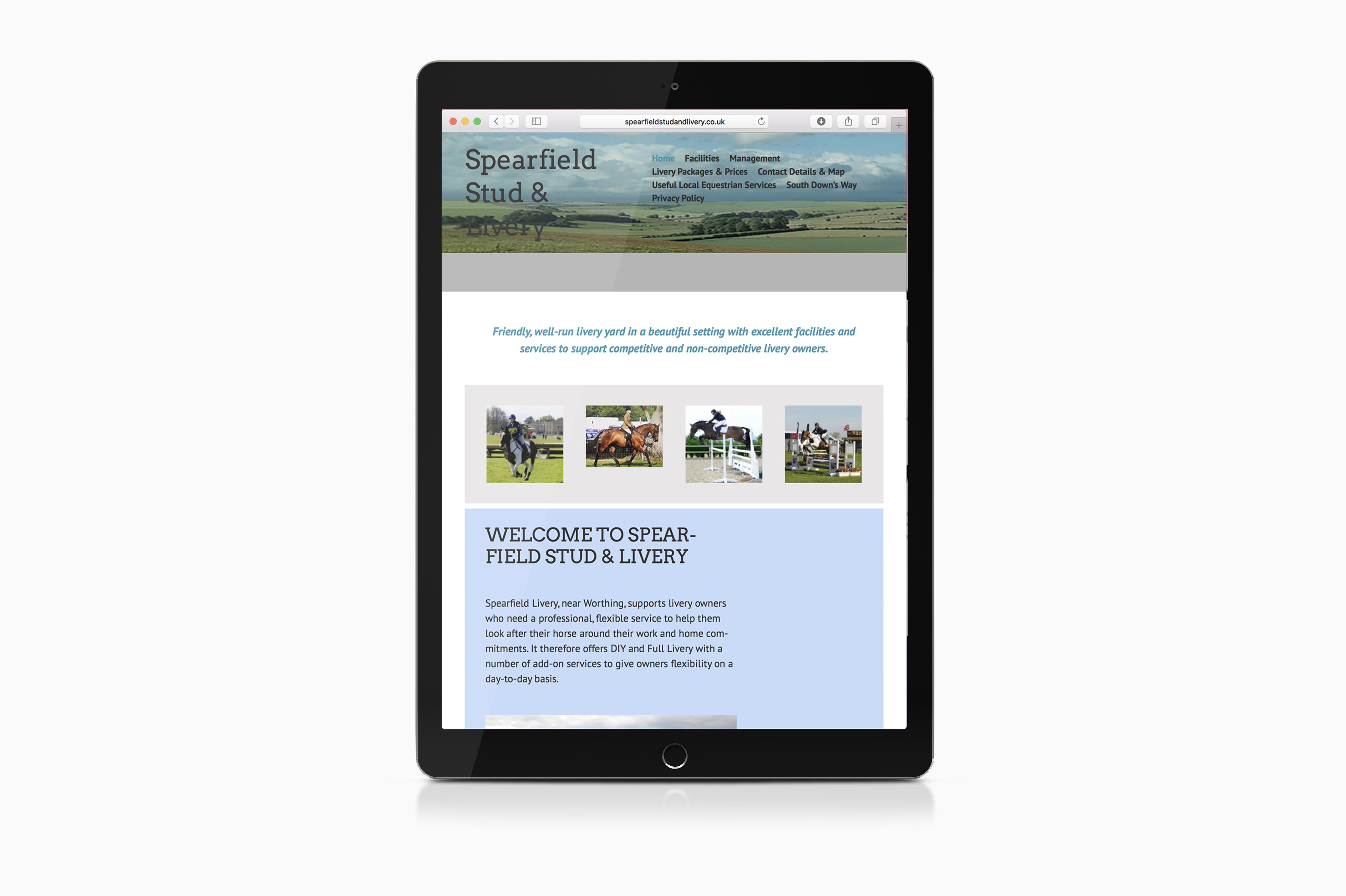 Chapel Street Web Design website
